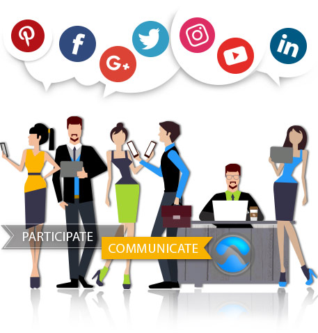 social media is where people communicate Because anyone can communicate with  social media is only dangerous when people don't know how to use it and regardless of how hard parents try to.