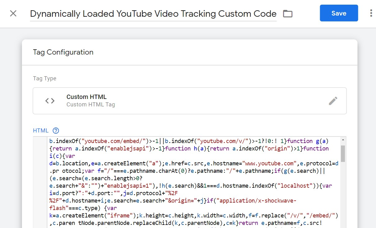 Google Tag Manager 2019 Tutorial With Script For Tracking YouTube Video Views