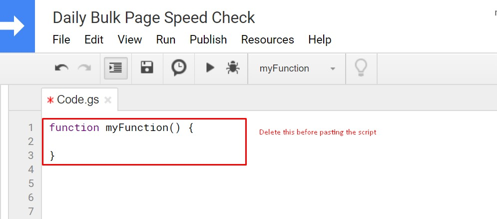 Tutorial for Bulk PageSpeed Check with Unique Script Inside